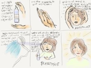 Hair Resource - Die Anwendung der Produkte